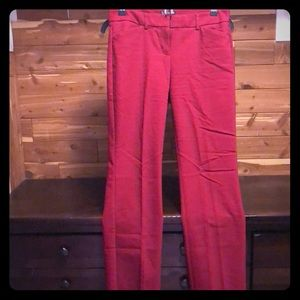 Cranberry red dress pants